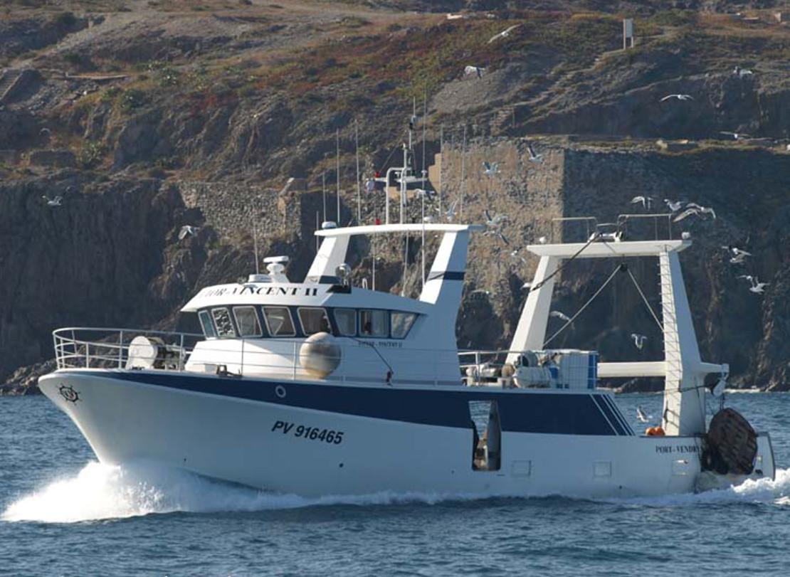 Chalutier Port Vendres - Port la Nouvelle