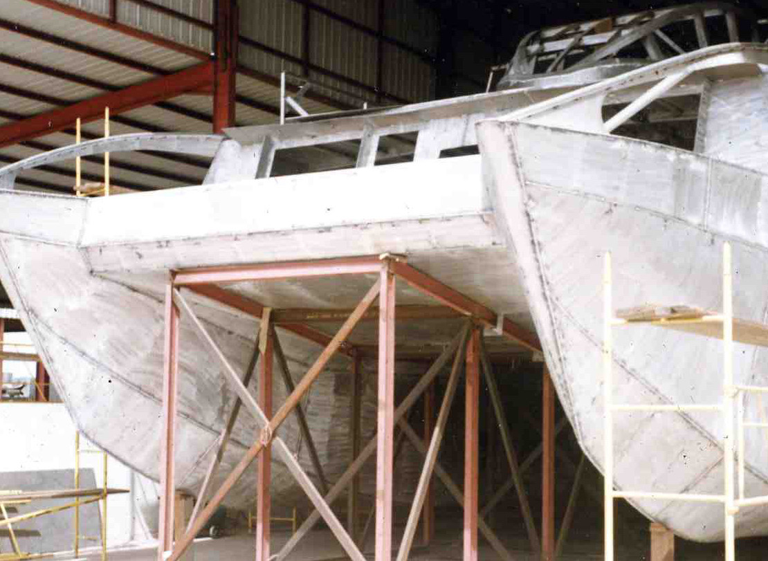 Kabatha catamaran transport de passagers