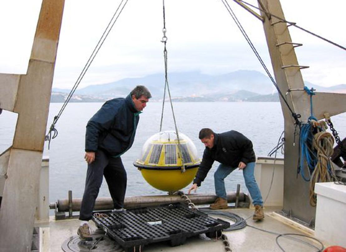 Nereis Prelevement oceanographique