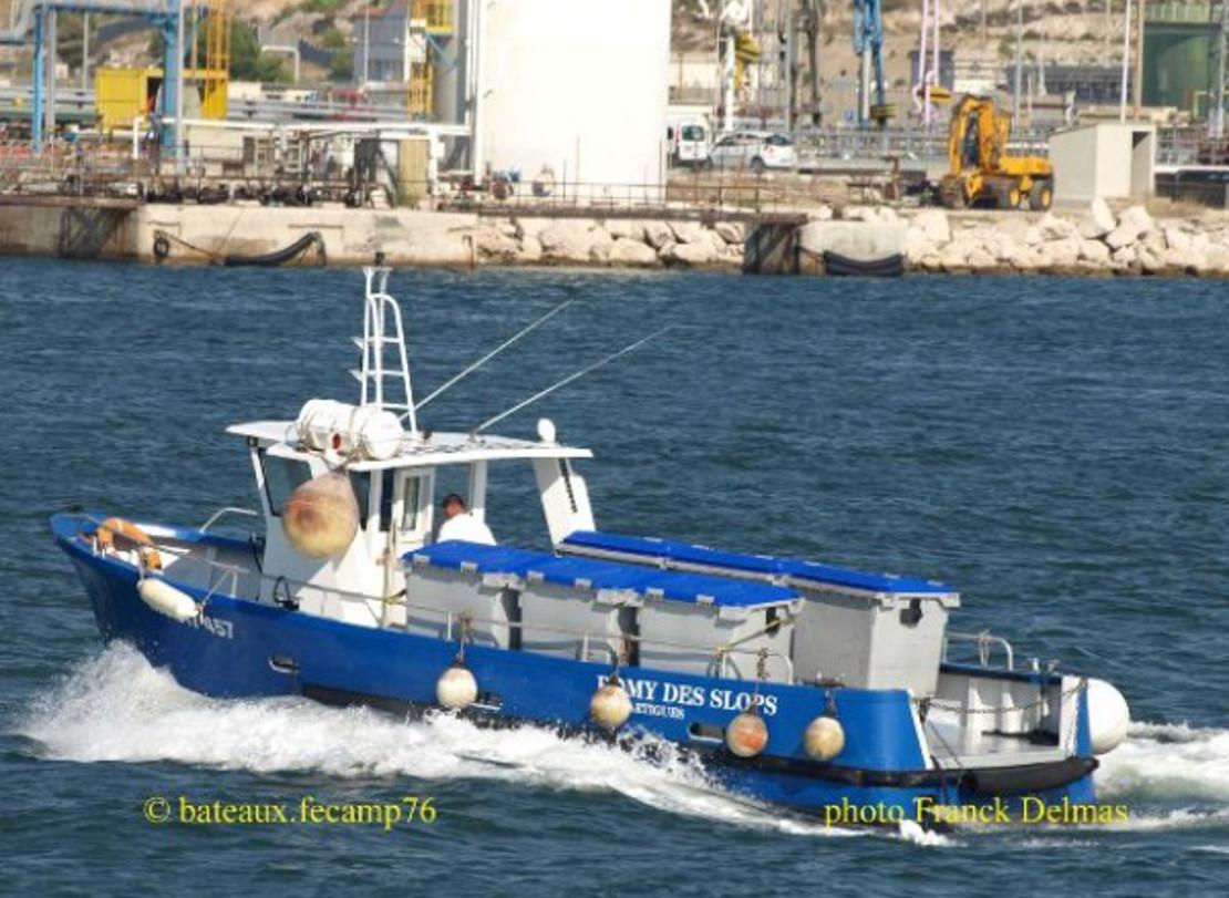 Romy des sloops service de rade