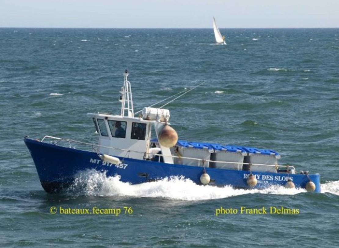 Romy des sloops service de rade Fos-Marseille