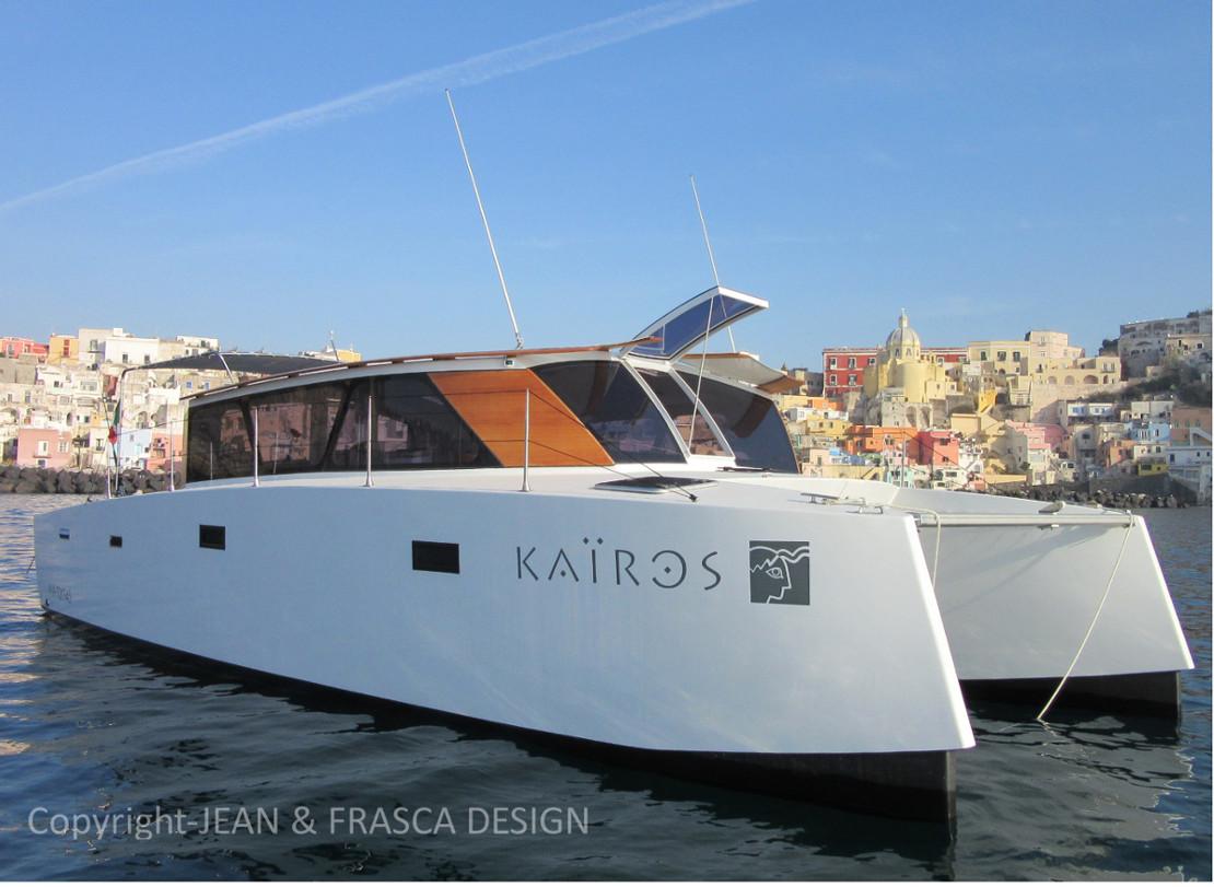 kairos catamaran moteur de voyage