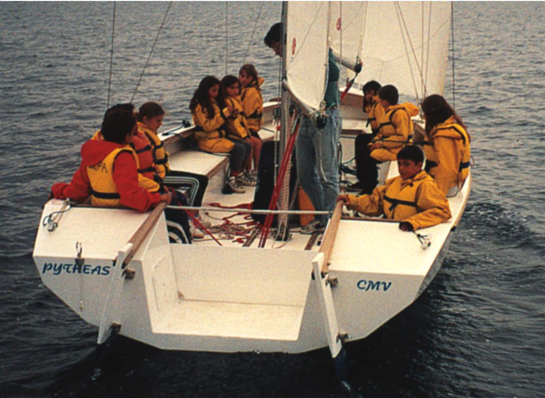 Pytheas-voilier ecole
